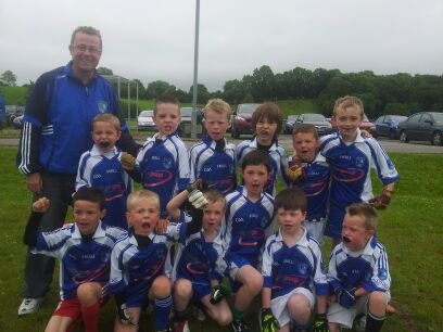 Clones U10 team, Scotstown Double Blitz