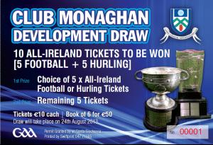 Ticket draw 2013