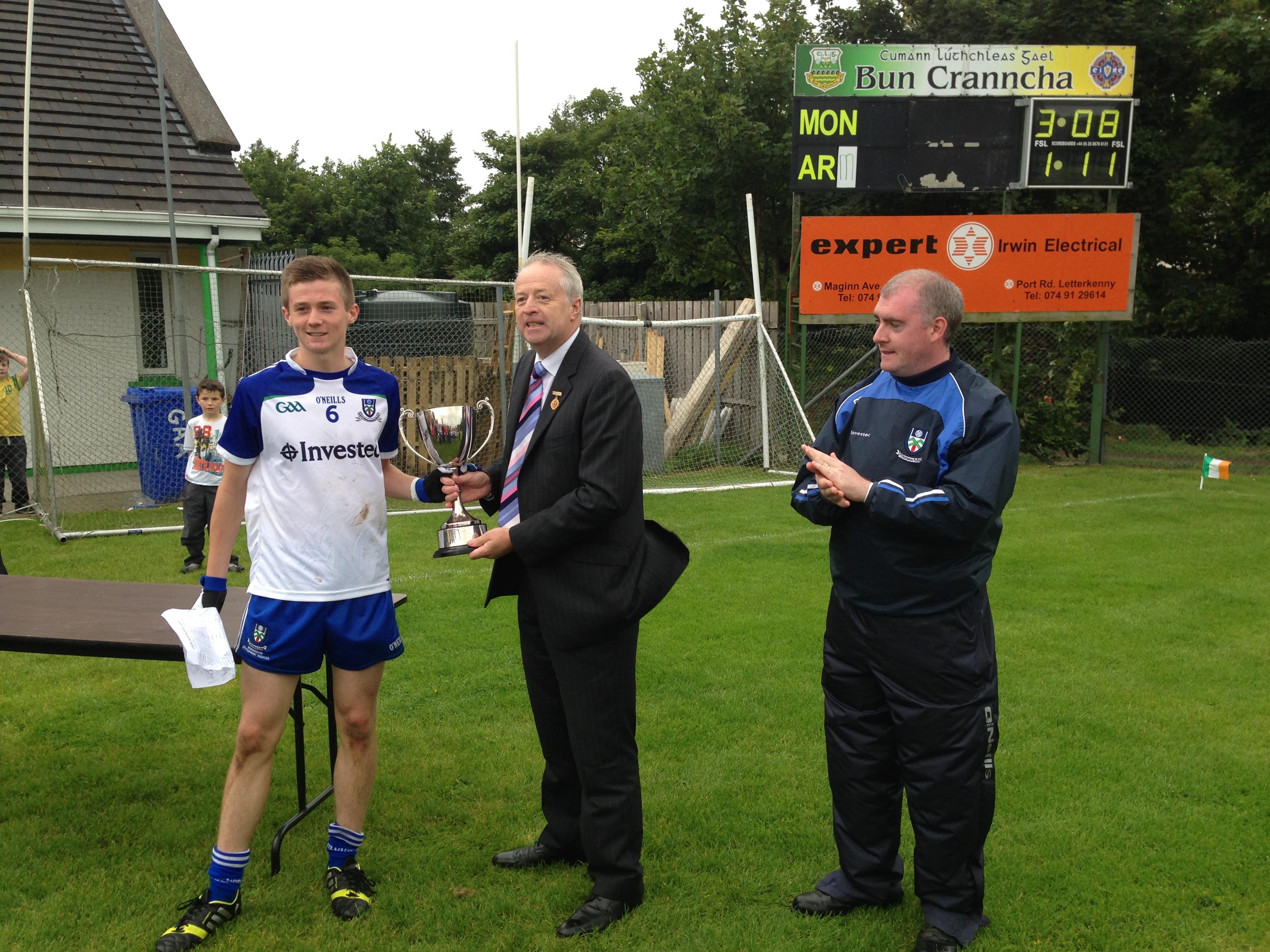 Monaghan U16′s win Buncrana Cup