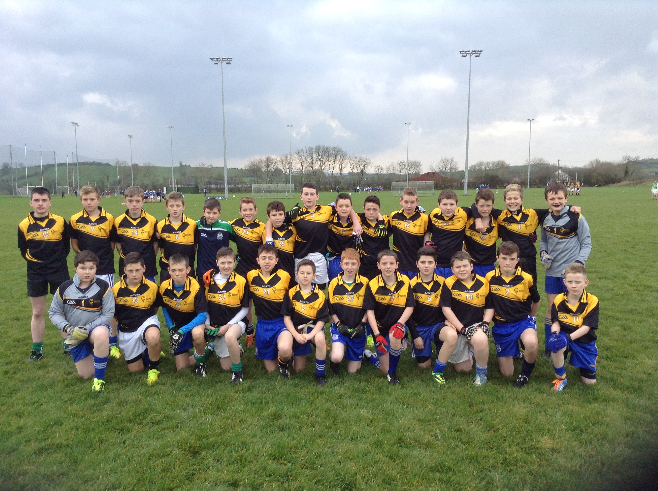1st and 2nd Year Super Touch Football Blitz