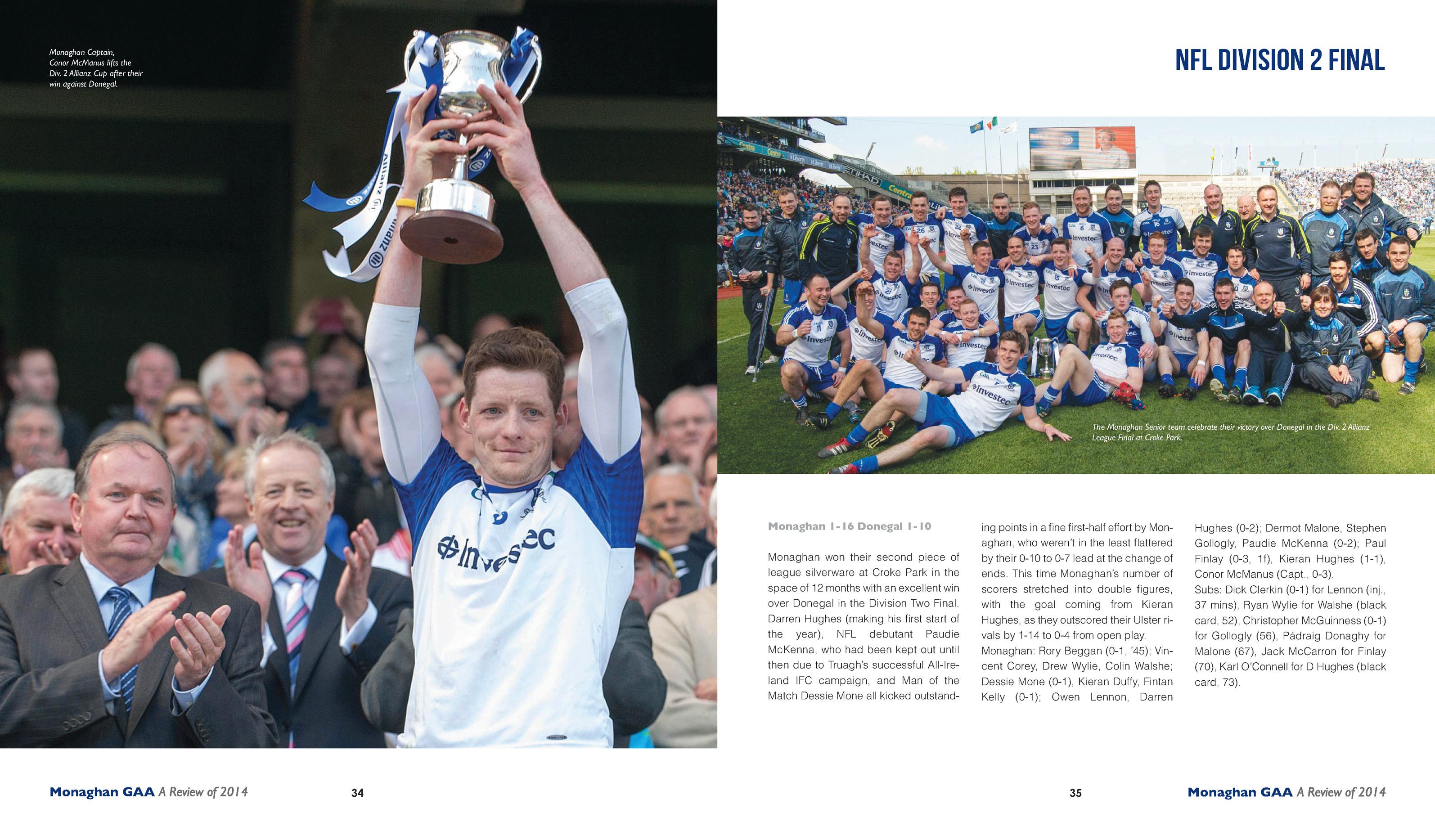 Monaghan GAA Yearbook 2014