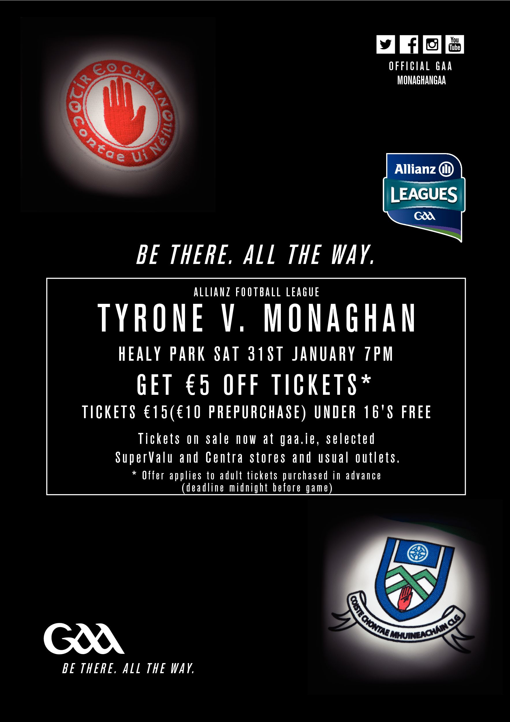 Allianz League Monaghan v Tyrone