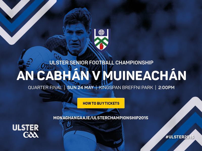 Cavan v Monaghan Ulster Championship 2015