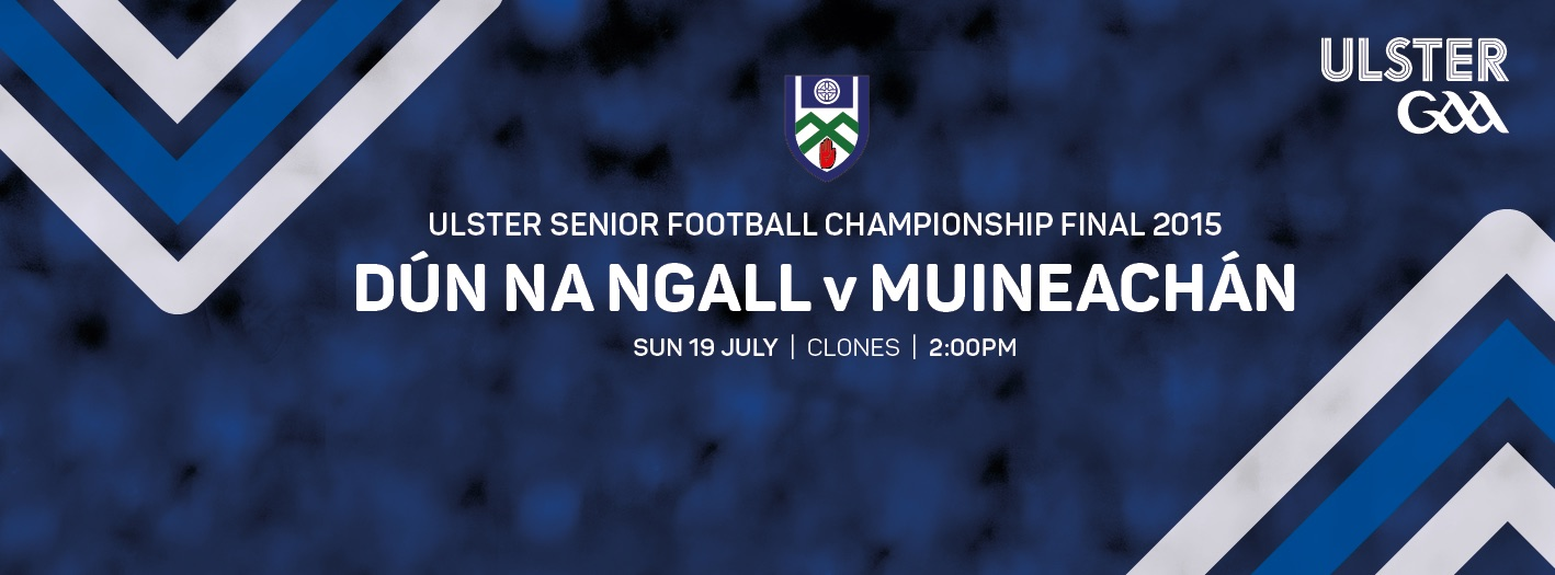 Ulster Final Club Order Ticket Details