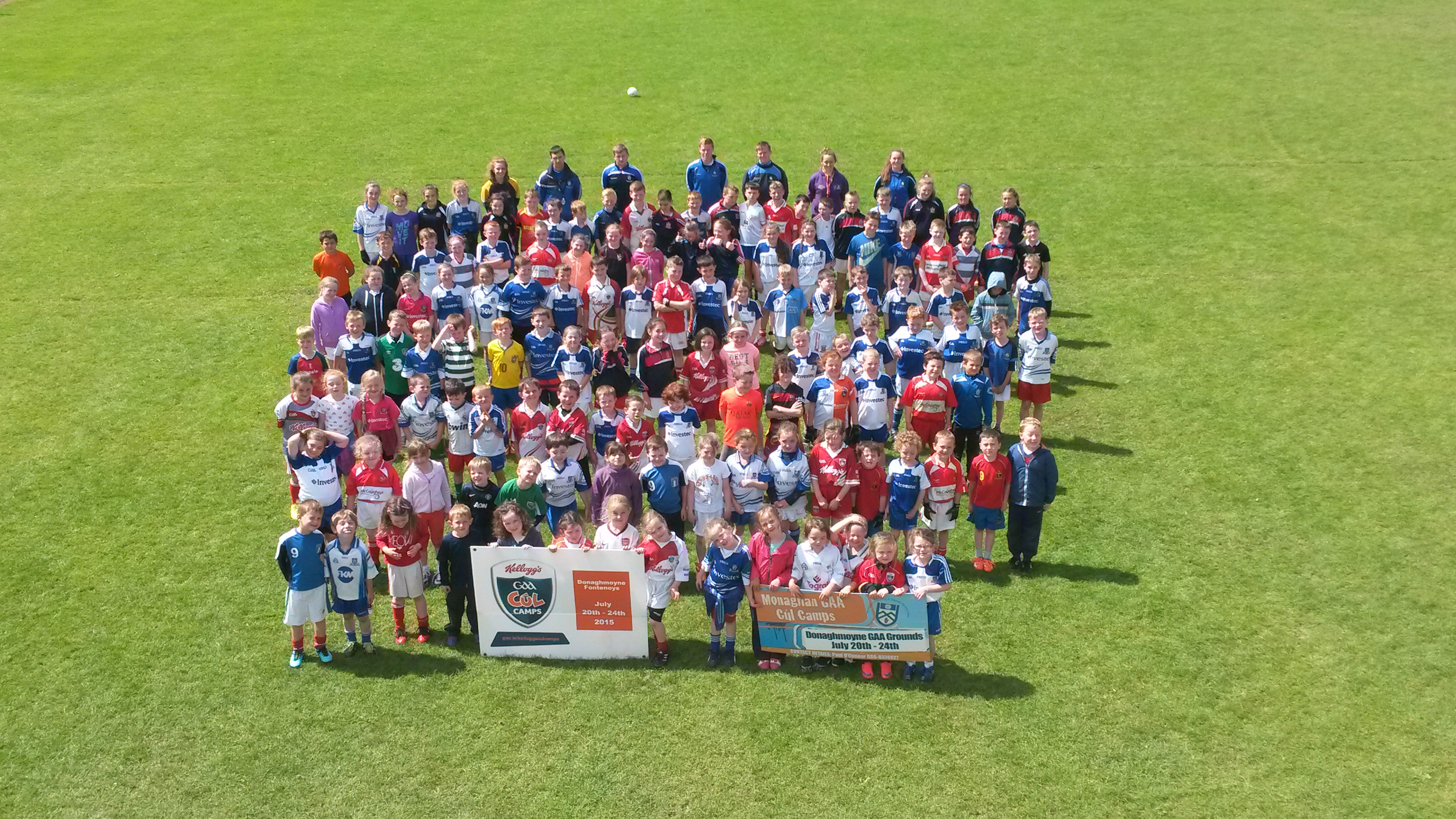 Week Four of Kellogg's Cul Camps – Latton, Donaghmoyne, Magheracloone and Scotstown