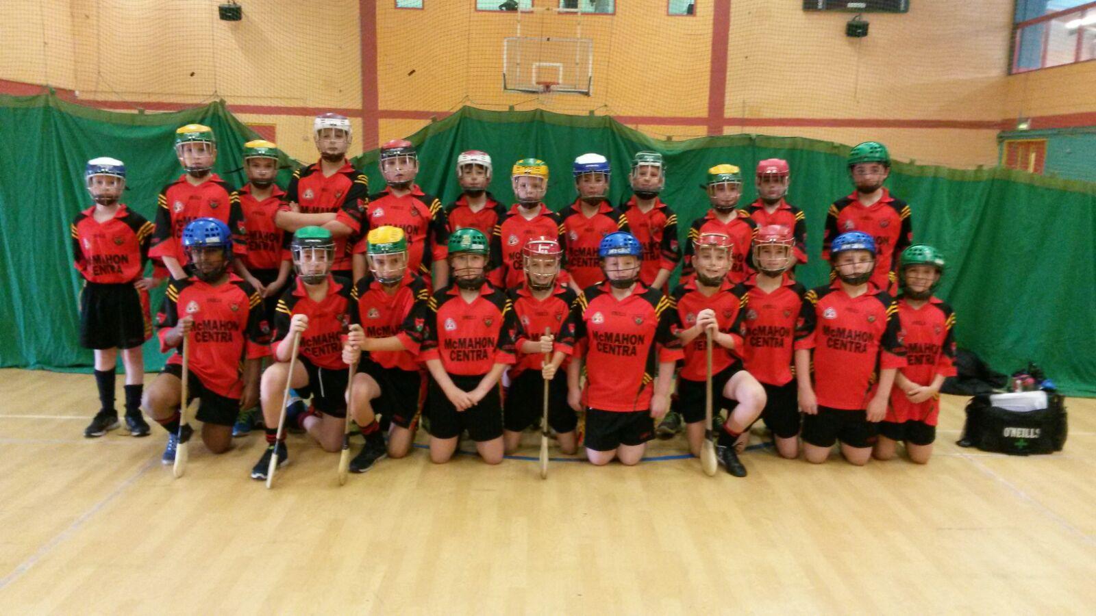 Primary School Indoor Hurling League a great success