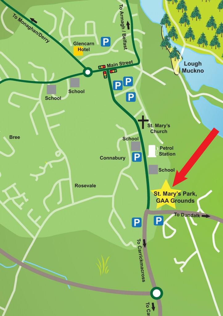 Monaghan v Donegal Ticket Details