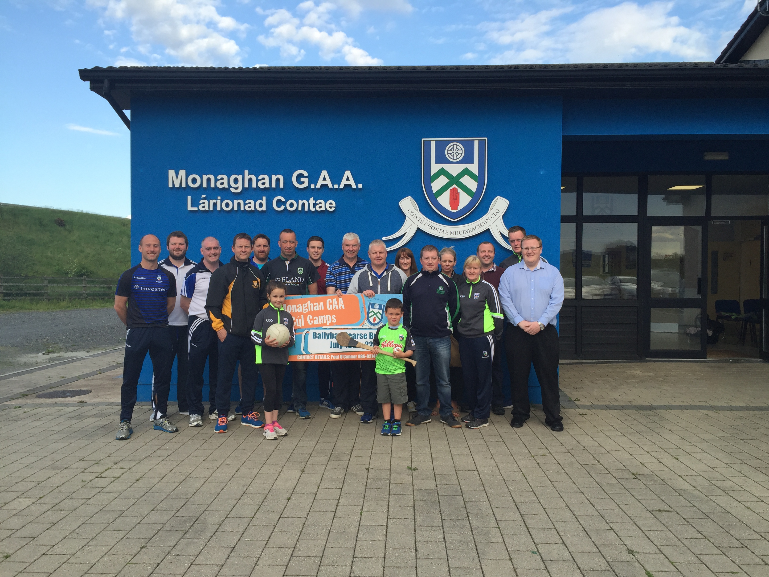 Monaghan Kellogg's Cul Camp Launch