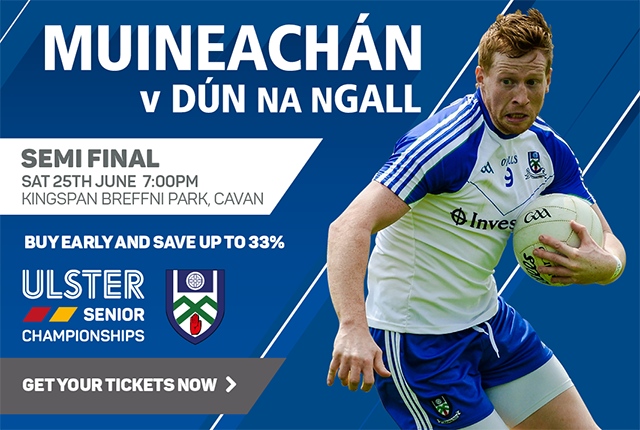Monaghan v Down Ulster Senior Football Championship 2016