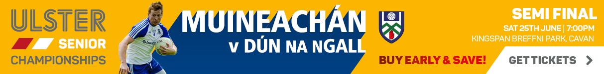 Ulster Senior Championship 2016 - Quarter Final - Monaghan v Donegal
