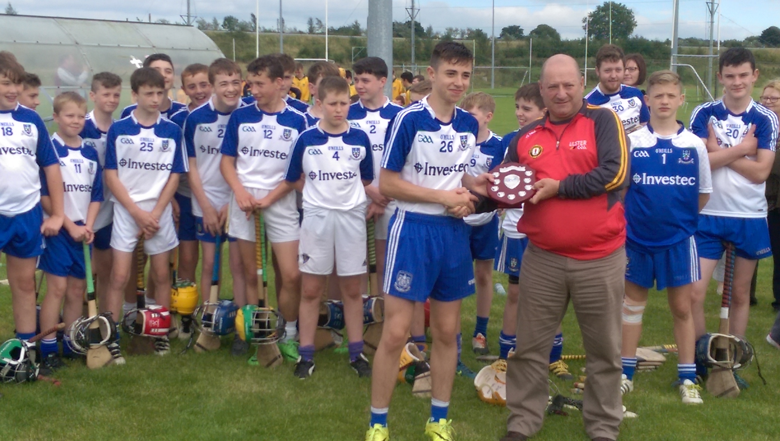 Monaghan Win National U14C  Shield Tournament