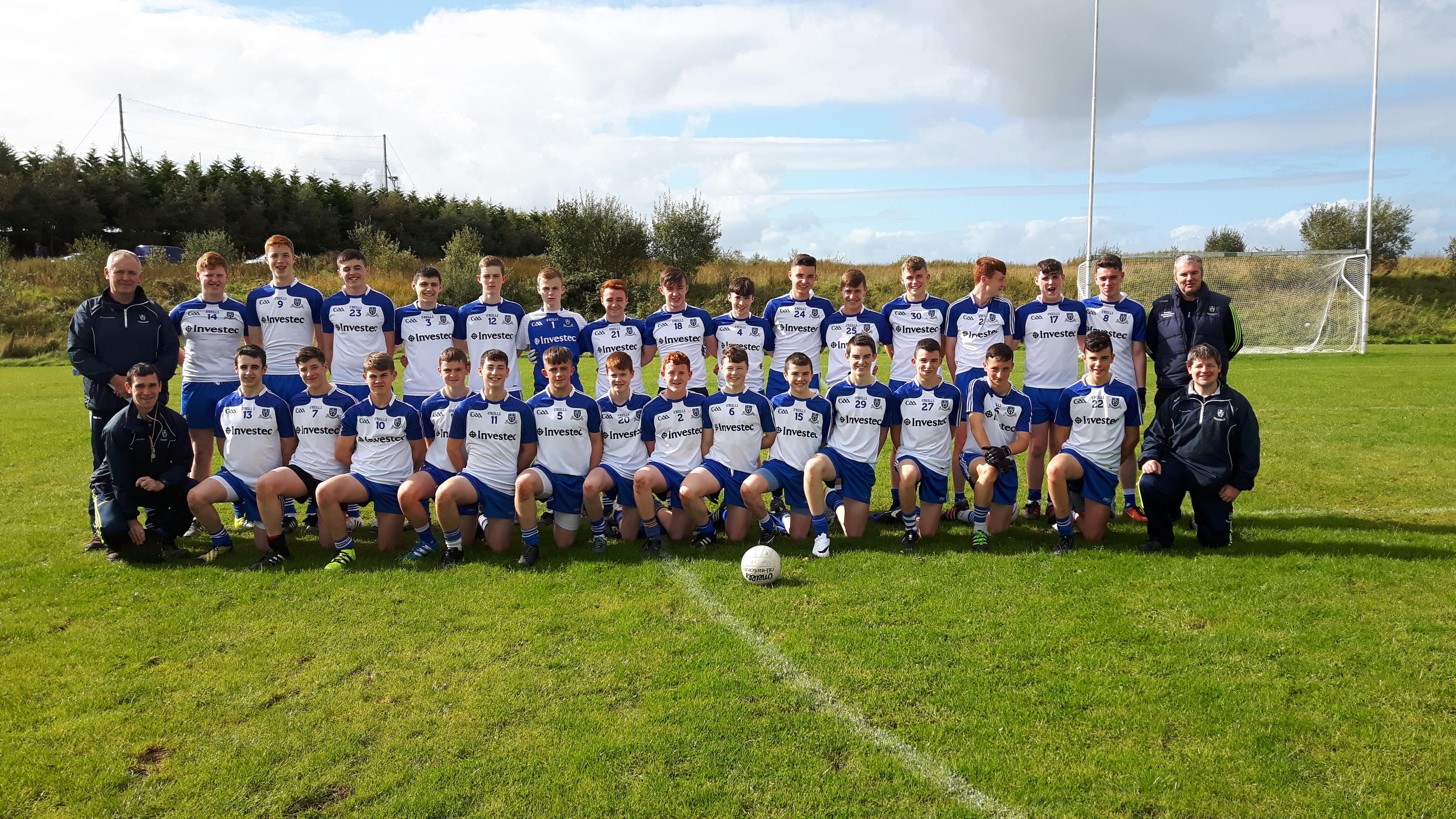 U15 Football Development Squad take part in Ulster Blitz