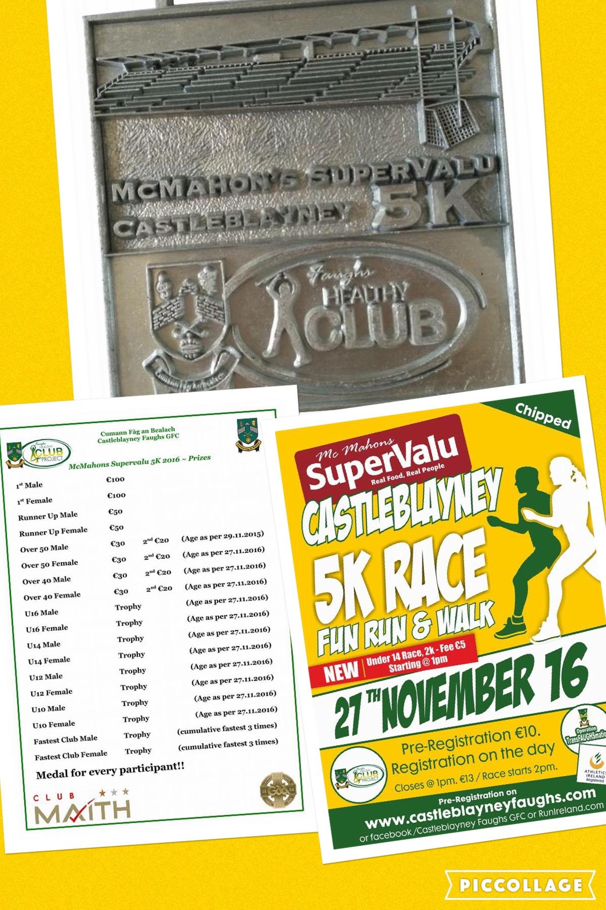 Mc Mahon's Super Valu Castleblayney  5km