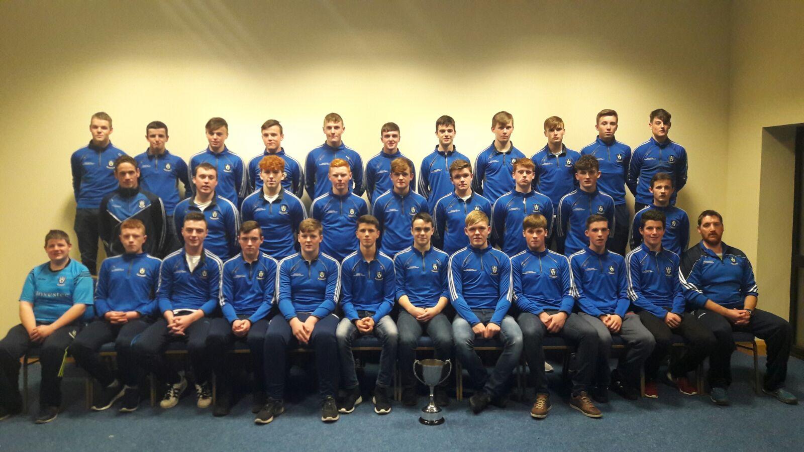 U16 Ulster Buncrana Cup Presentation