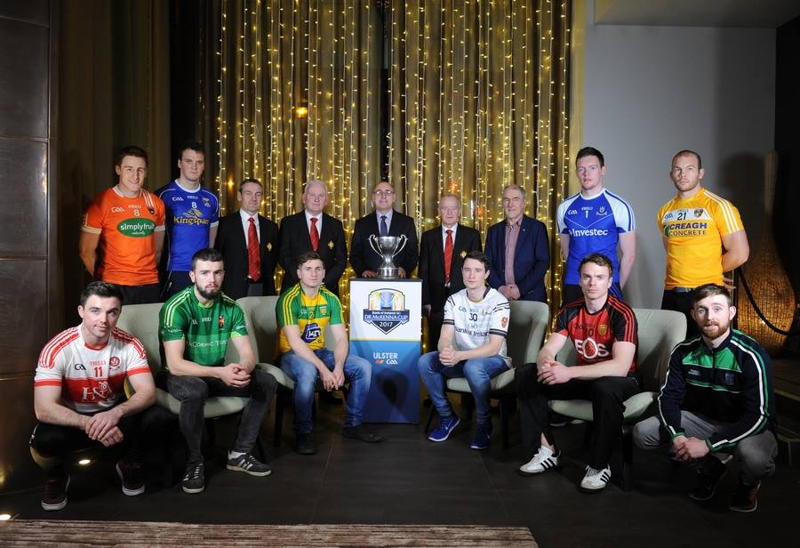2017 Bank of Ireland Mc Kenna Cup Fixtures