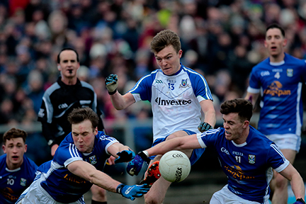 Monaghan and Cavan share the spoils