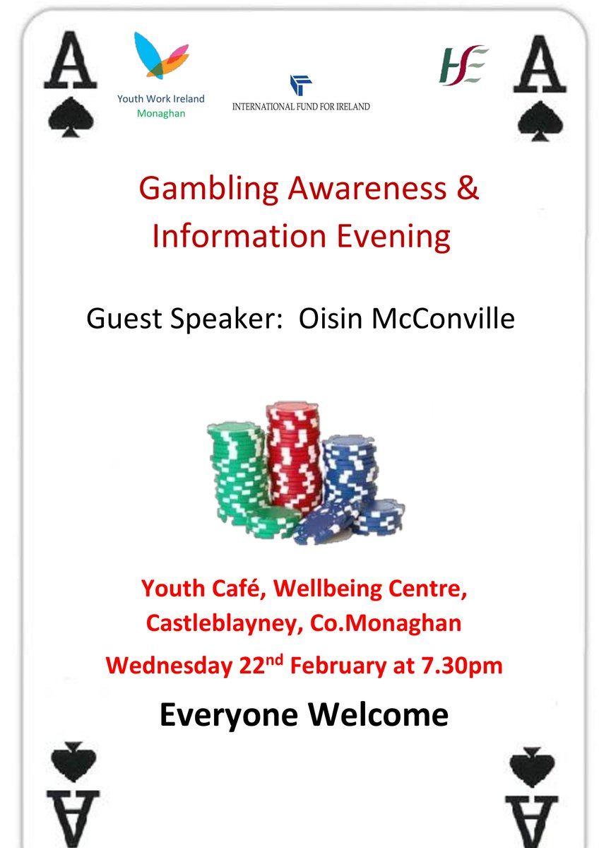 Gambling Awareness Information Evening