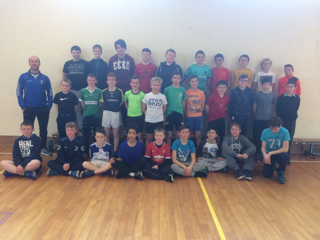 Enhancing Athletic Movement Pilot Initiative being delivered in Monaghan Boys National Schools