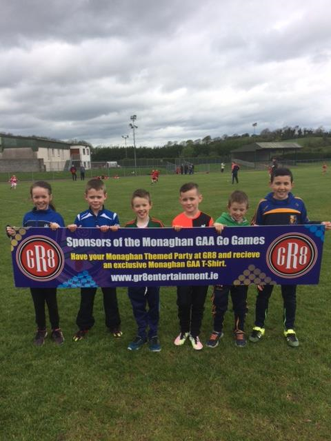Monaghan GAA GR8 Go Games Up and Running!