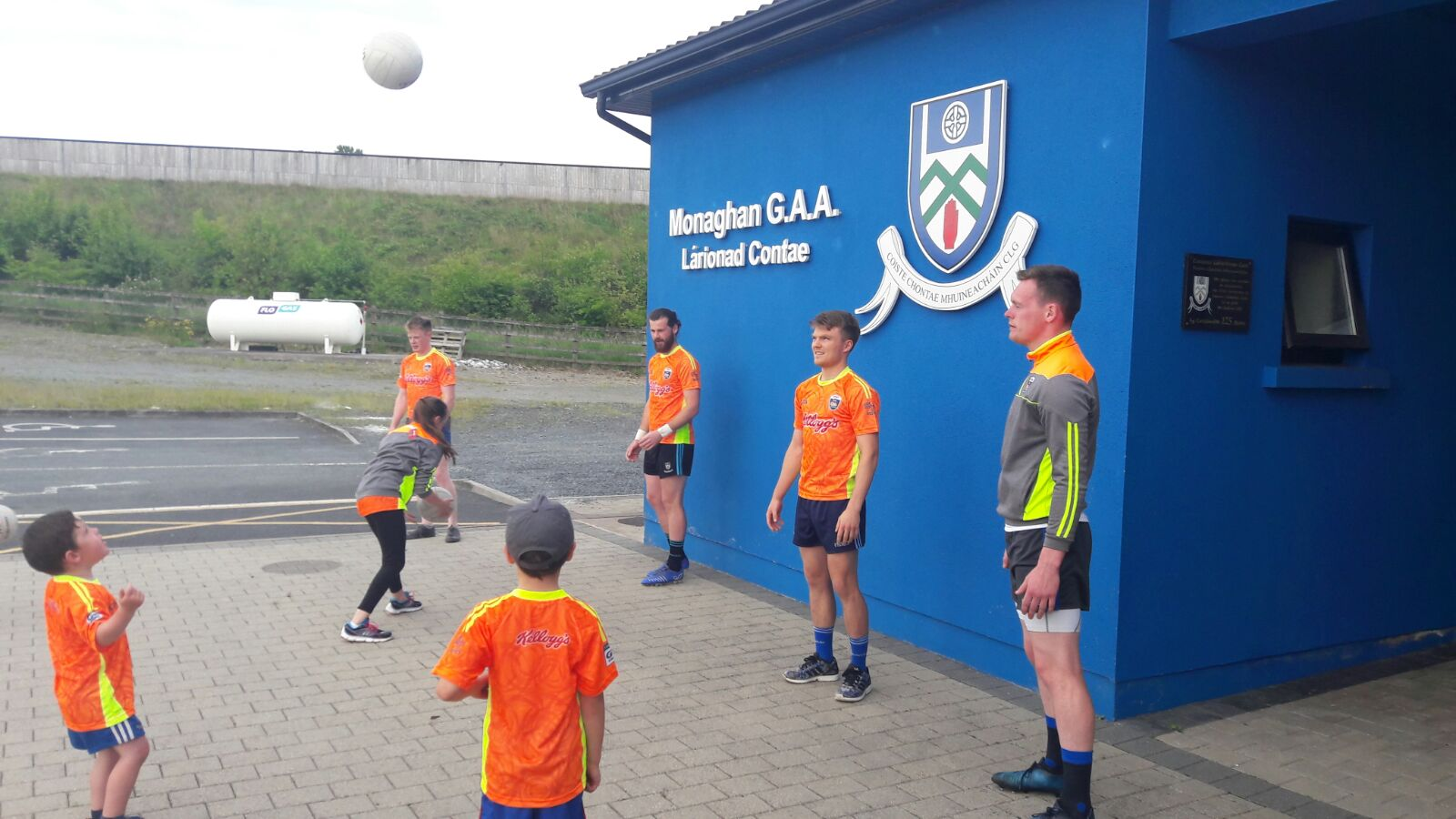 COUNTY PLAYERS PROMOTE CUL CAMPS – TWO DAYS LEFT TO ENTER OUR EARLY BIRD COMPETITION!!!