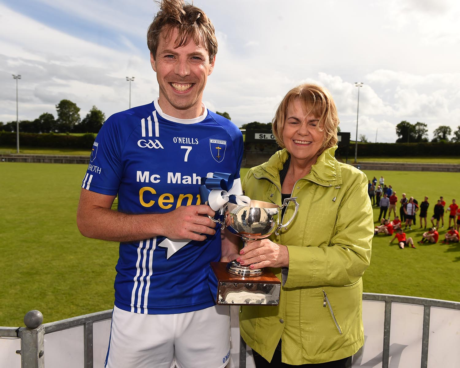 Scotstown capture the O' Duffy Cup