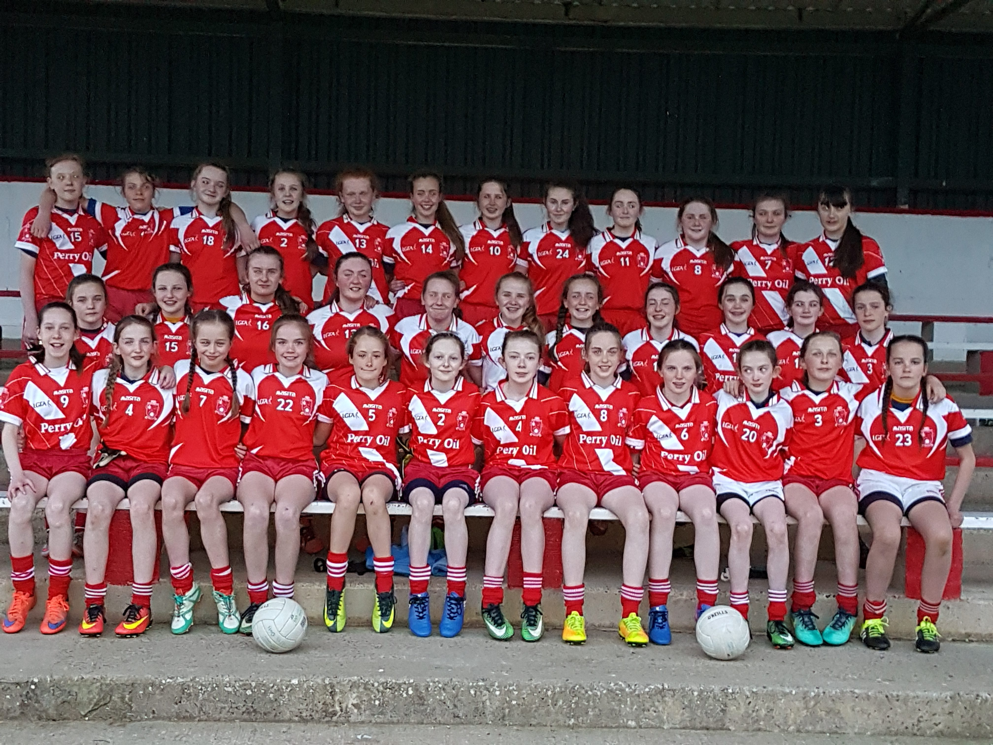 Emyvale ladies Welcome Tinahely