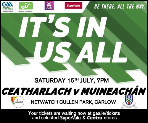 Monaghan v Carlow – Ticket Details