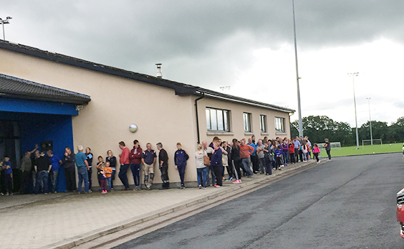 Ticket Fever Grips Cloghan