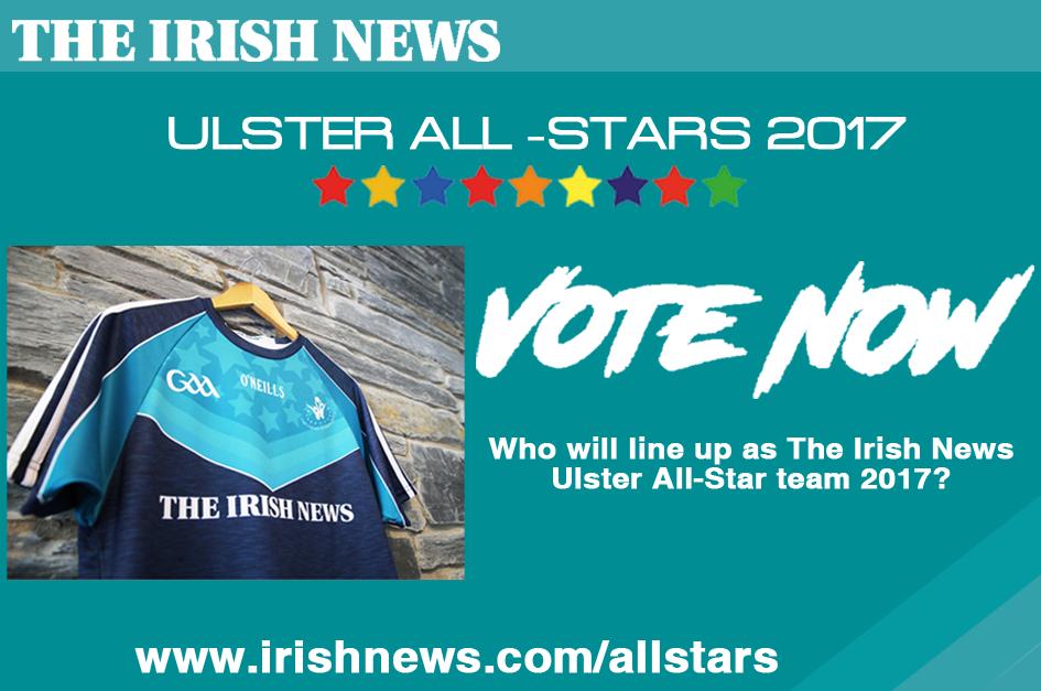 THE IRISH NEWS ULSTER ALL STARS