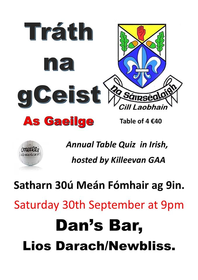 Trá na gCeist as Gaeilge