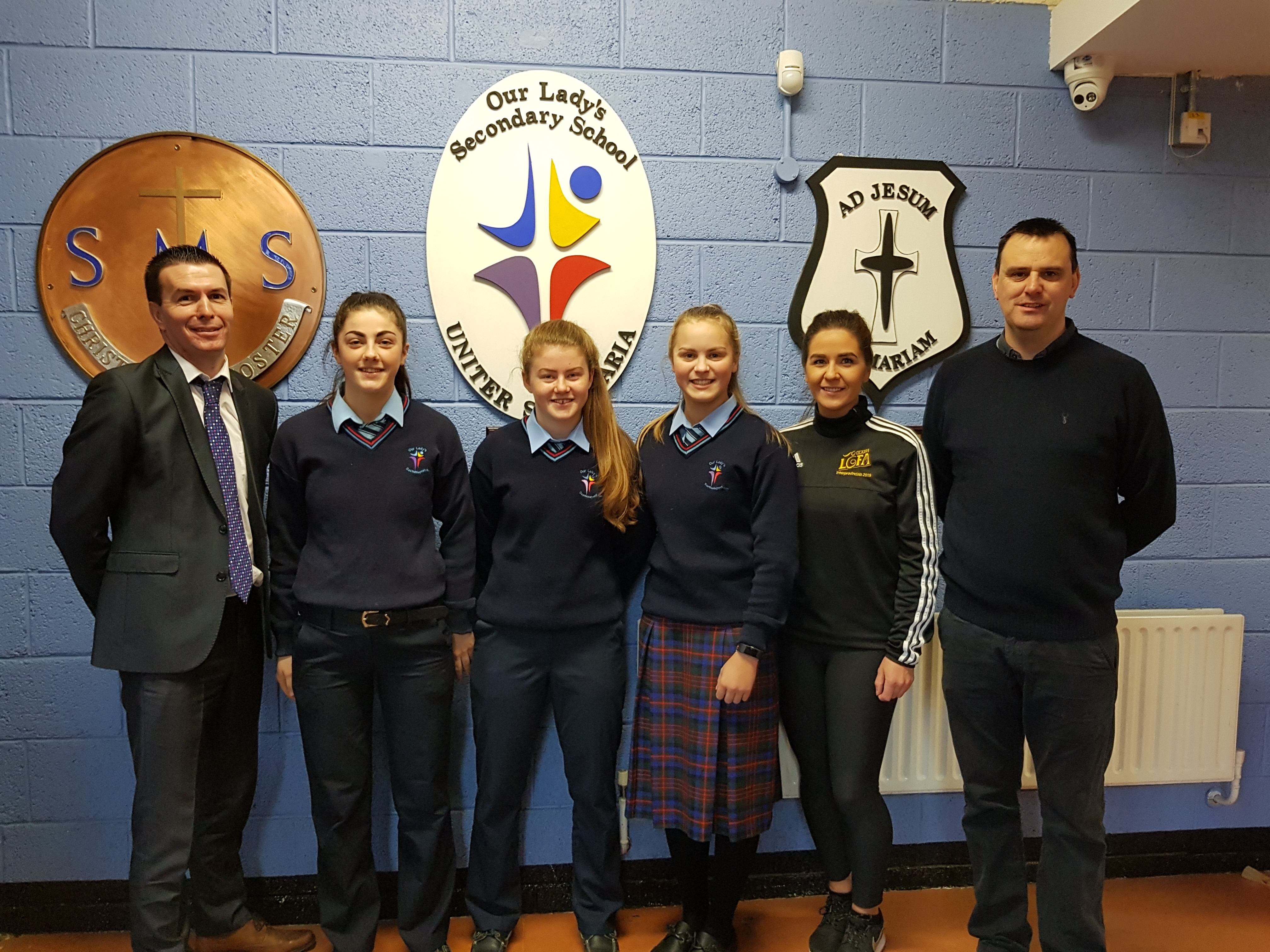 Three more All Star Awards for Our Lady's Secondary School, Castleblayney