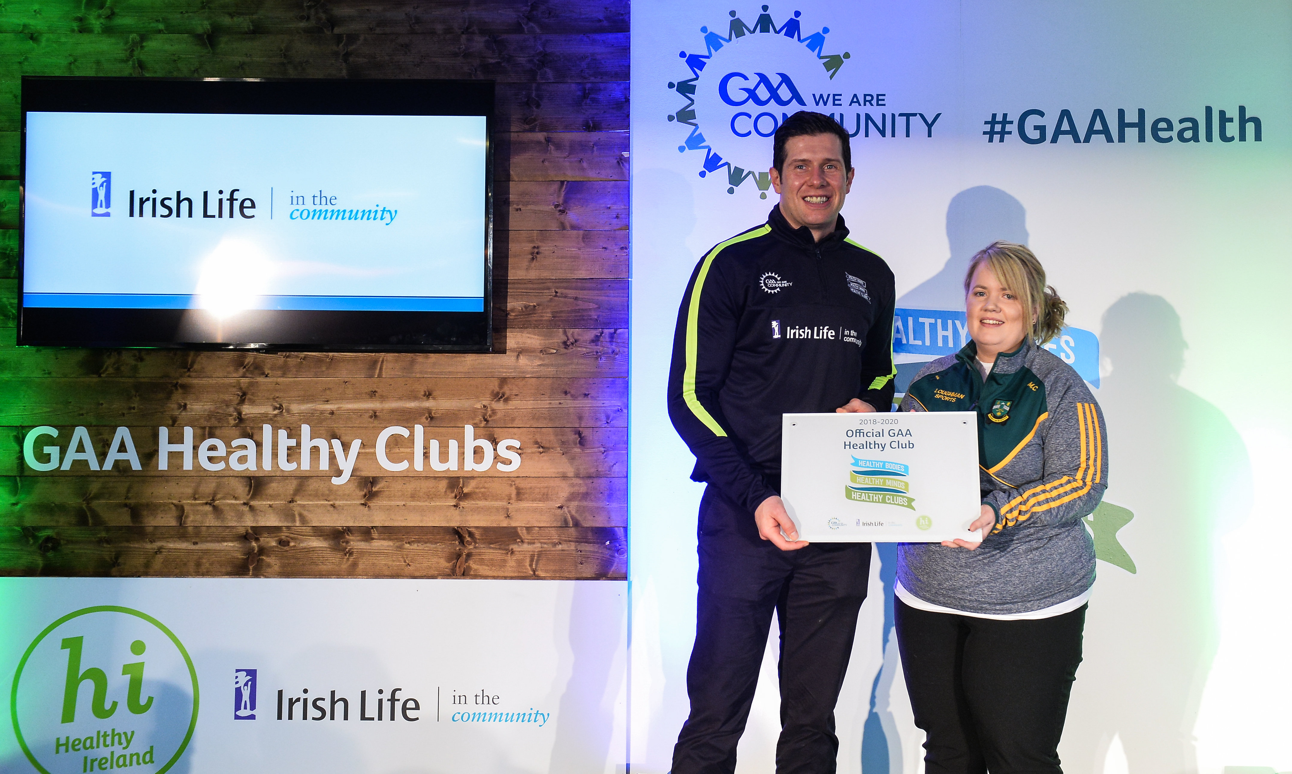 Faughs amongst first GAA Healthy Clubs to receive national recognition