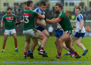 Allianz NFL: Monaghan fall just short against Mayo