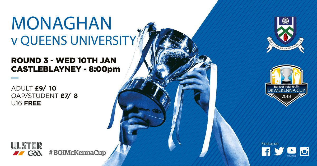 McKenna Cup Preview: Monaghan v Queen's