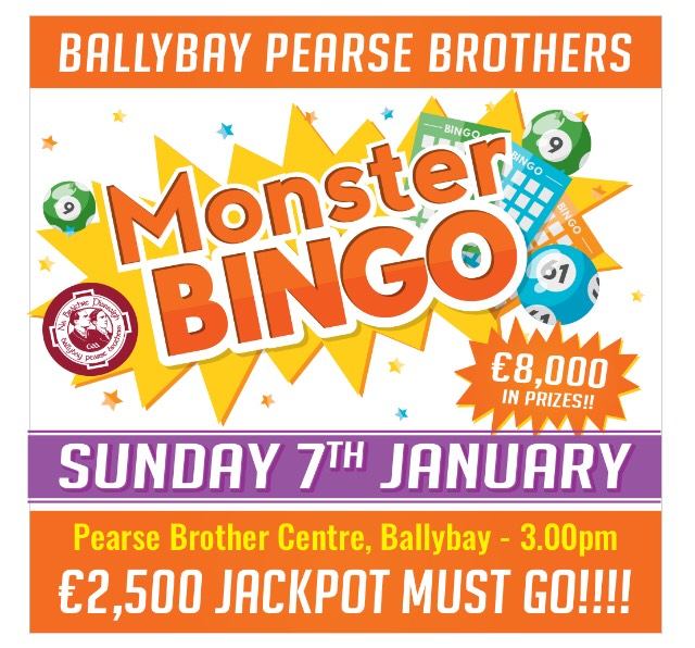 Ballybay Monster Bingo