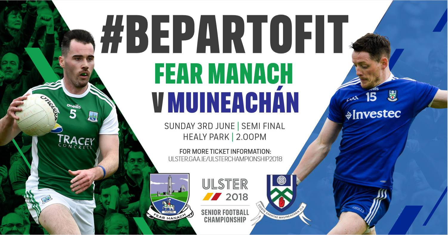 Monaghan v Fermanagh Ticket information