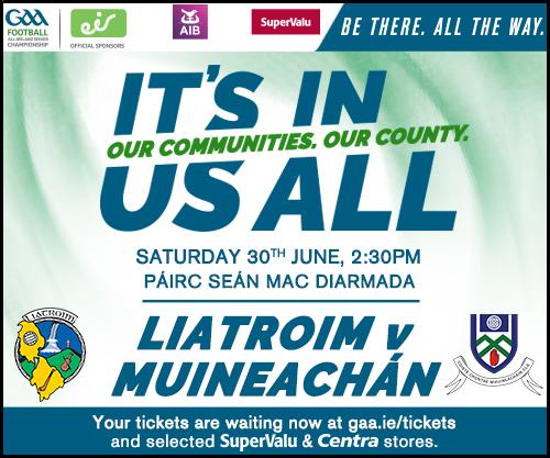 Monaghan v Leitrim Rd 3 Qualifier  Ticket Details
