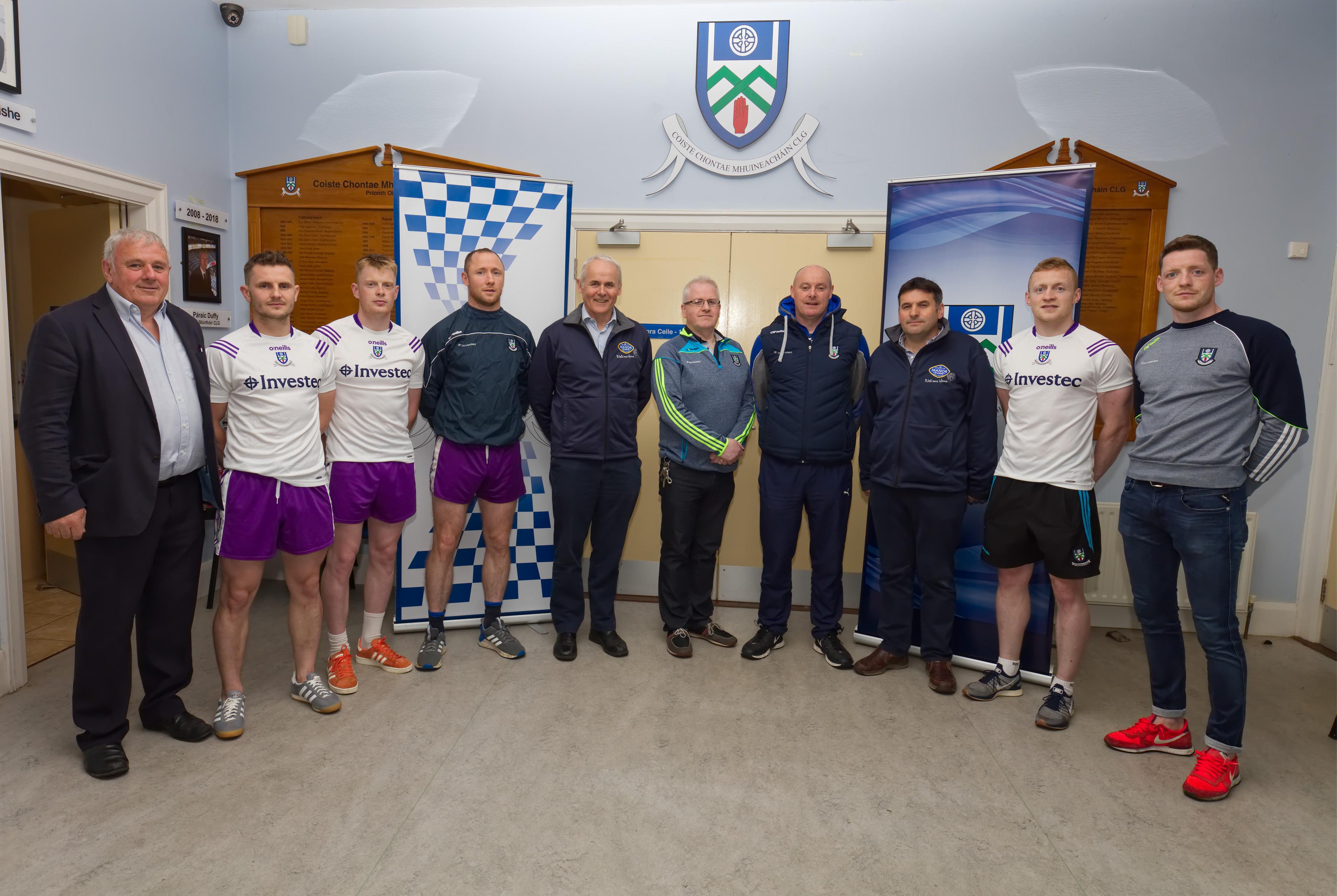 Manor Farm Continue Partnership with Monaghan GAA