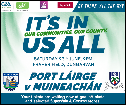Monaghan v Waterford All Ireland Qualifier  Rd 2 Ticket Details