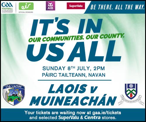 Monaghan V Laois Ticket Details