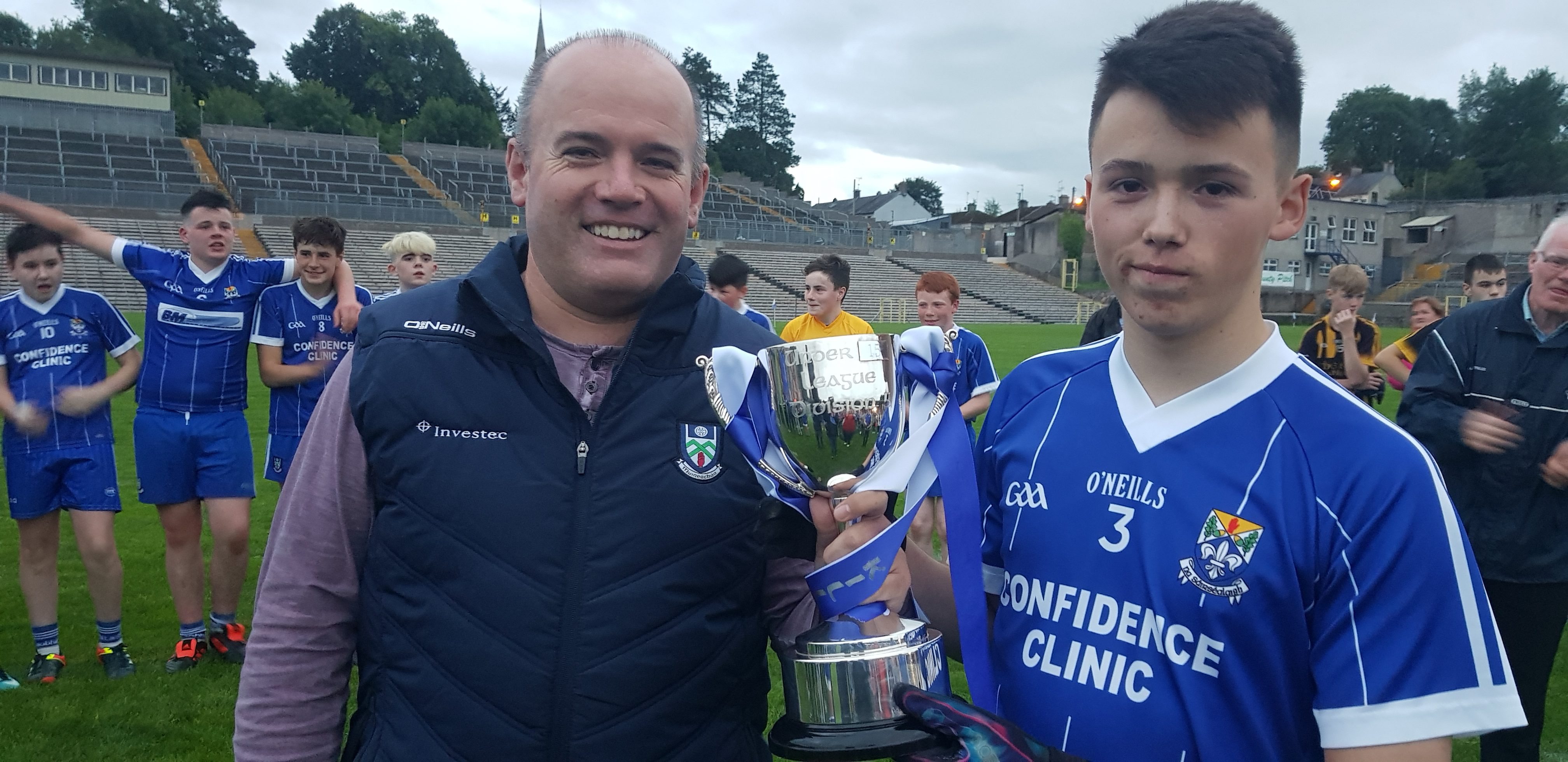 Killeevan win Shield after Extra Time