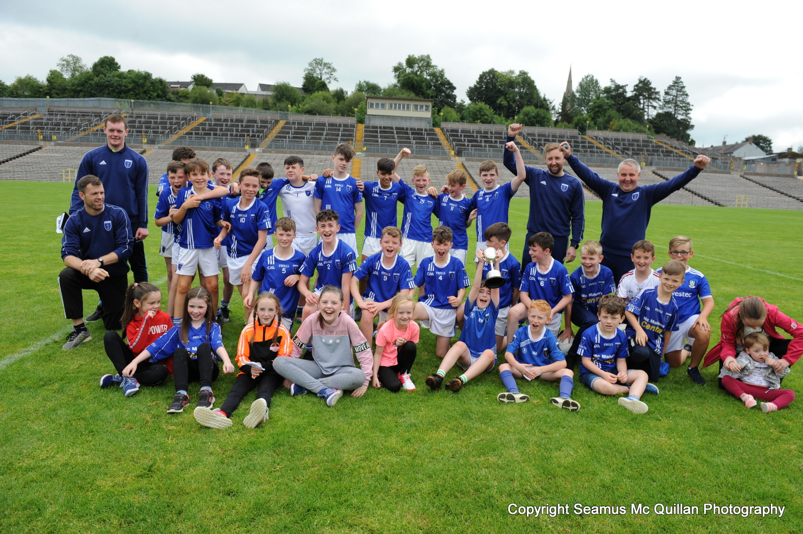 Monaghan's Holy Trinity Gives Scotstown U13  Division 1 Shield