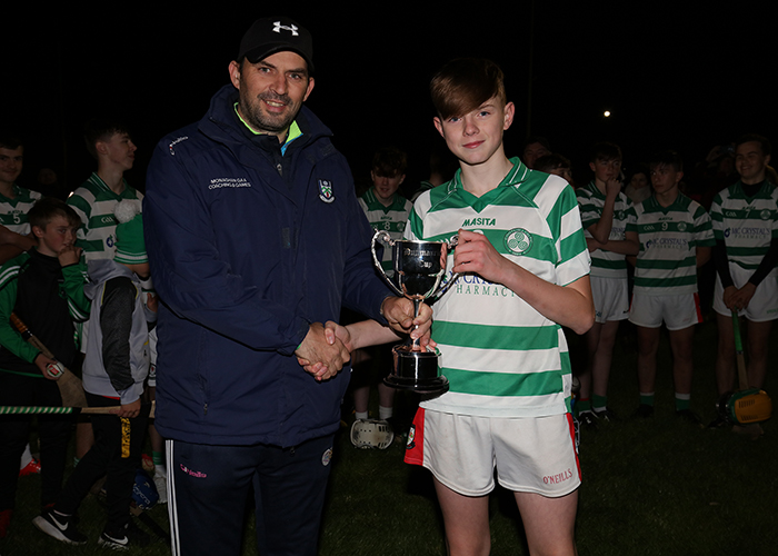 COOTEHILL'S EXTRA TIME BURST SEALS U15 HURLING CUP