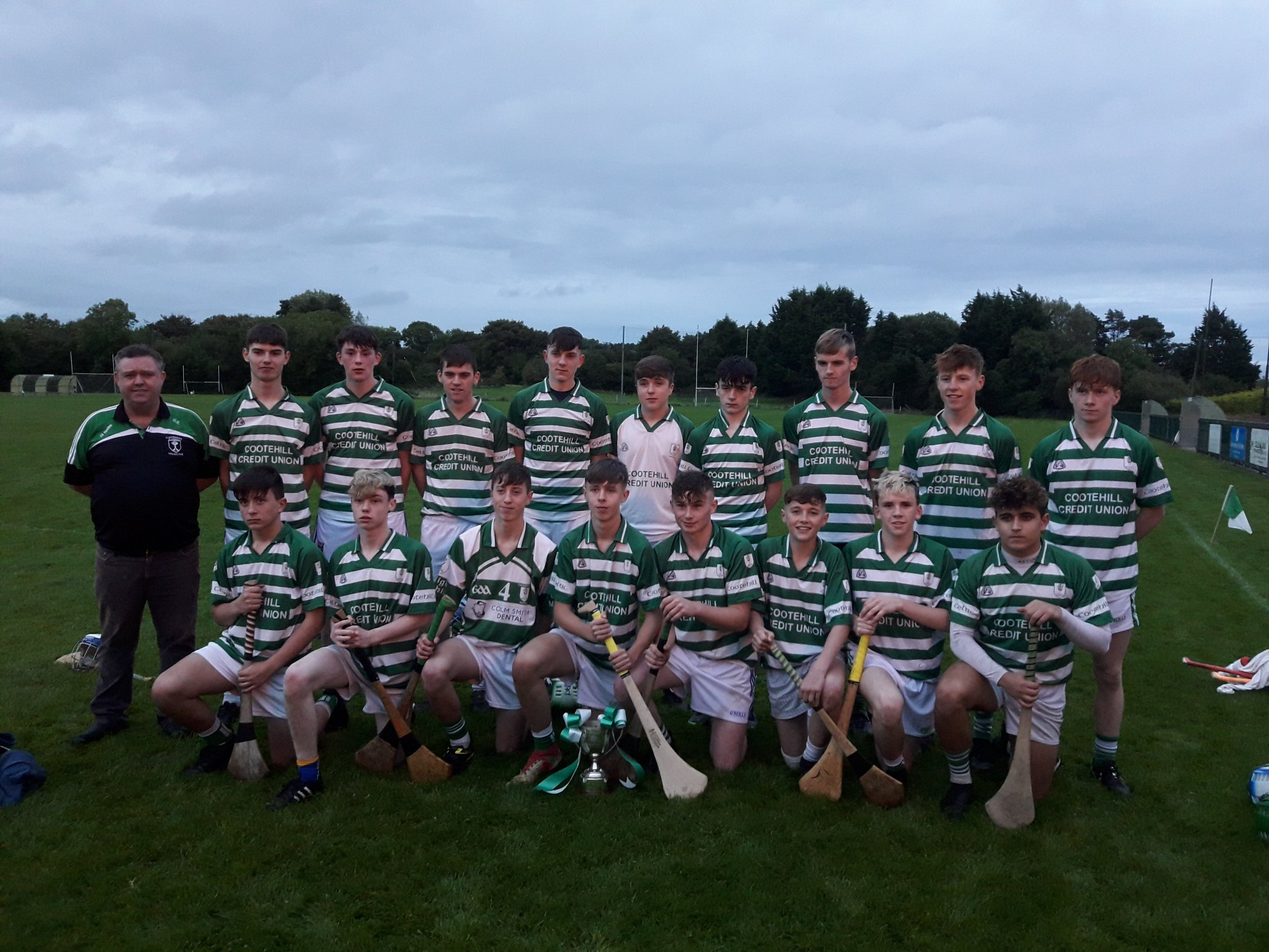 Kean's Goal-den Touch Gives Cootehill U17 Shield Title