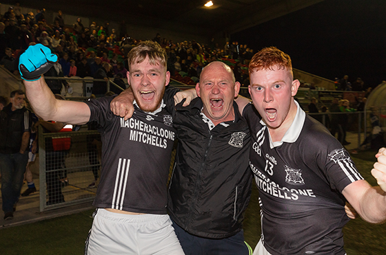 Magheracloone Secure Division 1 League Title