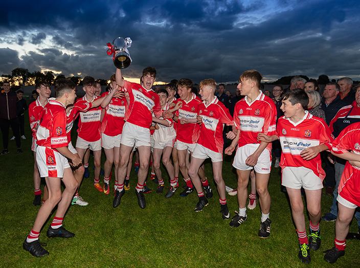 Donaghmoyne U15s Division 1 Double Winners