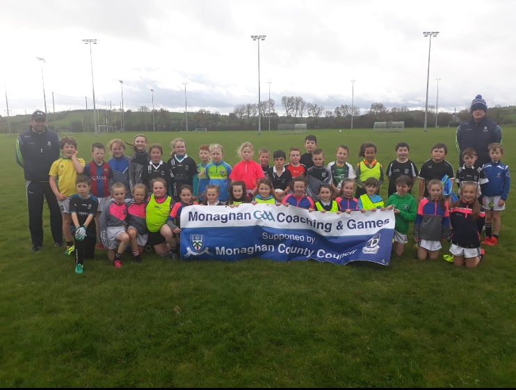 Monaghan Coaching & Games 3rd/4th class Go Games Football & Hurling Blitz
