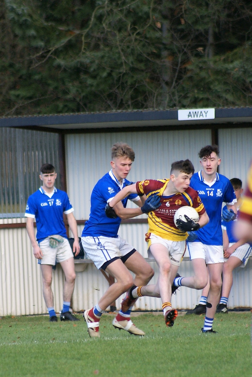 St. Patrick's Forwards Come Good in Second Half
