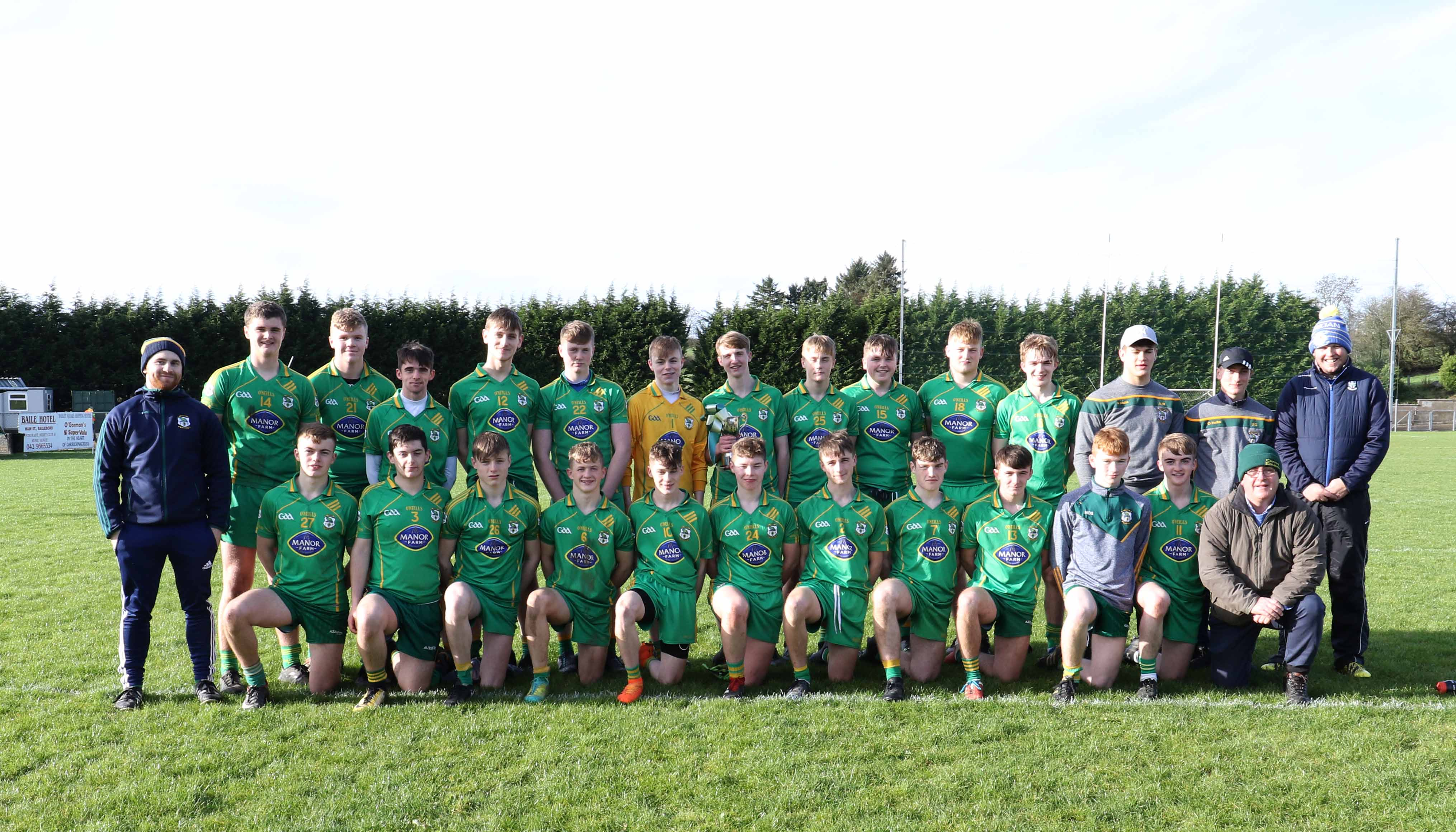 Goals Seal  Victory For Carrickmacross