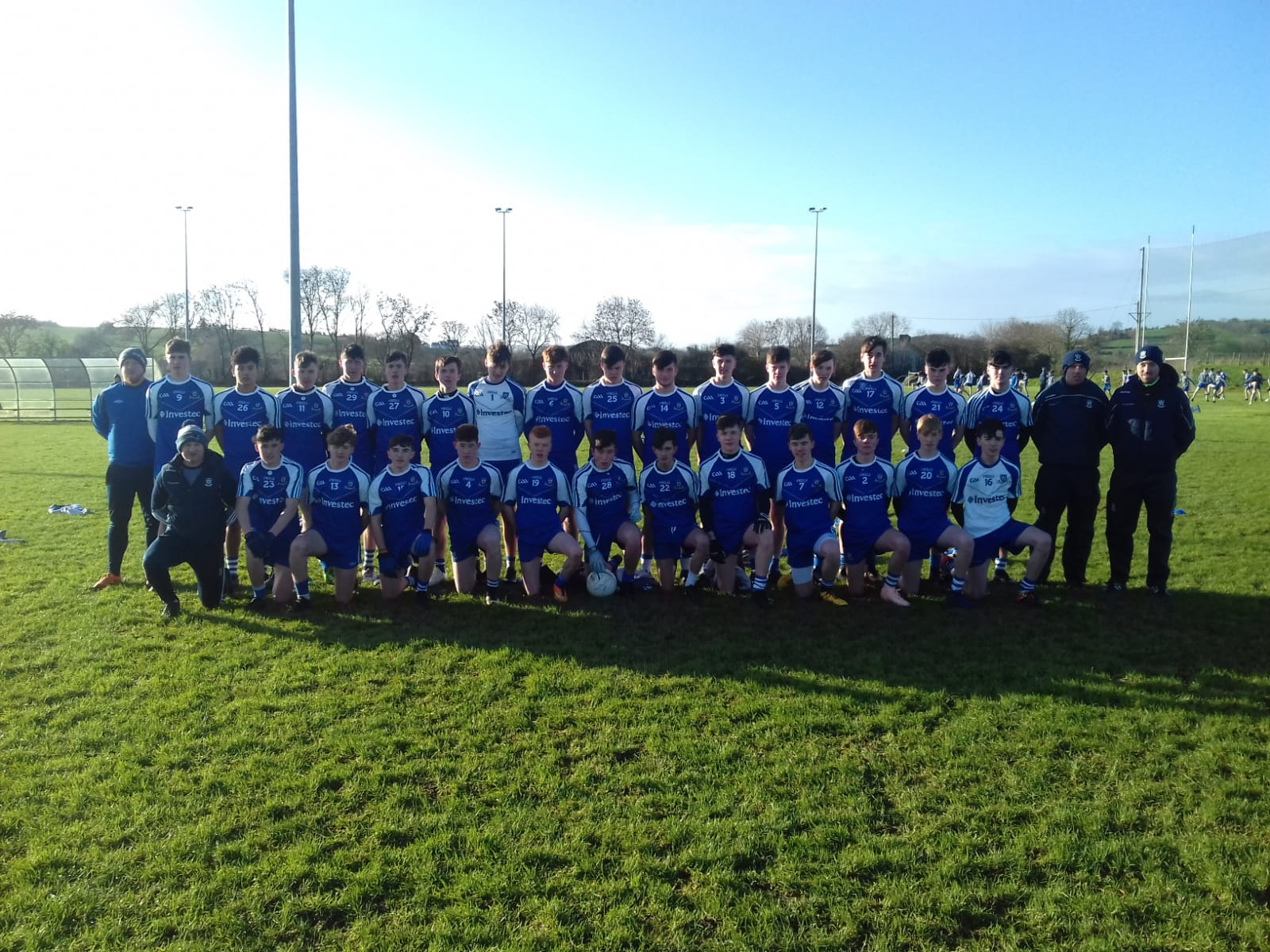 Monaghan Development Squads Show up well Against Dublin